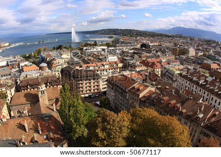 Geneva, Switzerland - stock photo