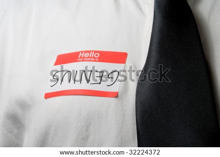 Genius - stock photo