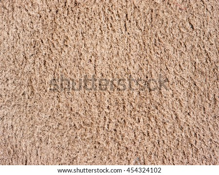 Genuine Leather and Suede, Brown. Macro, Close up. Concept and Idea of Fine Leather Crafting, Handmade Leather Handcrafted, Background Textured and Wallpaper. - stock photo