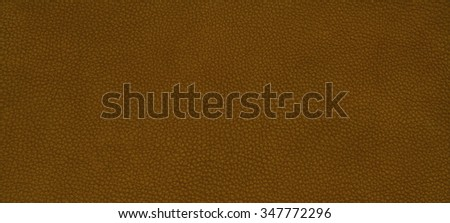 Genuine leather skin texture color brown. - stock photo