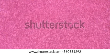 Genuine leather skin texture color pink. - stock photo