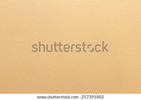 Genuine leather sofa background - stock photo