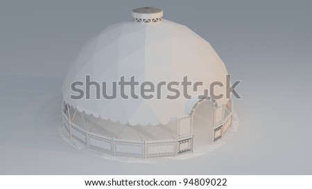 Geodesic Dome Render