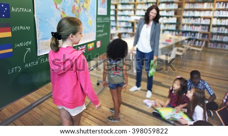 Geography Worldwide Explorer Continent Country Concept - stock photo
