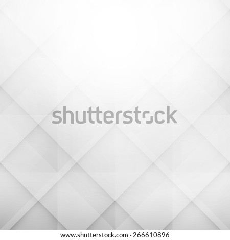 geometric abstract background with rhombus shapes, light blue color - stock photo