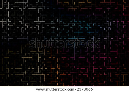 geometric abstract design for webpage or other graphic or artistic piece. - stock photo