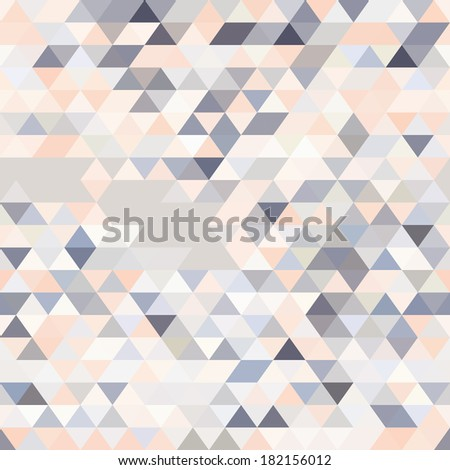 geometric background of colored triangles  space for text