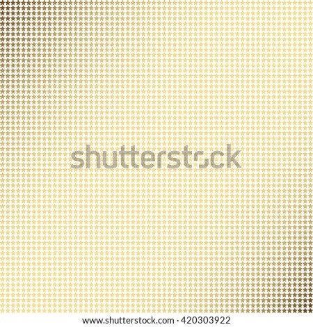 Geometric mosaic seamless pattern with colorful stars om white background - stock photo