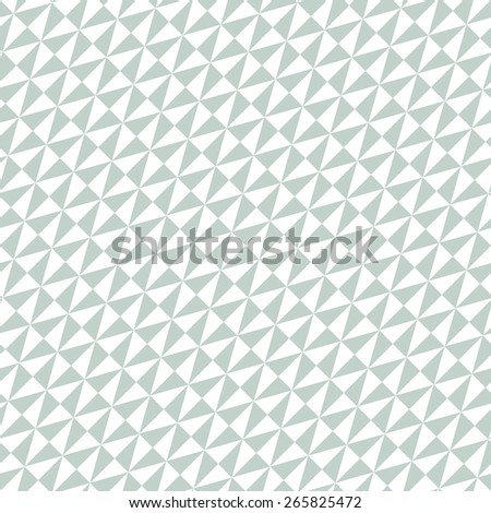 Geometric  pattern with triangular blue and white elements. Seamless abstract diagonal texture for wallpapers and backgrounds - stock photo