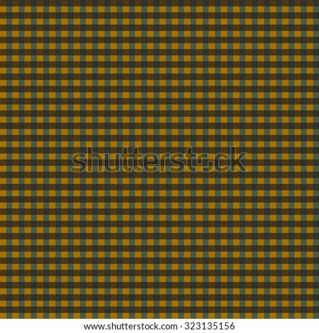 Geometric seamless pattern in traditional colors of Halloween.   Illustration. - stock photo
