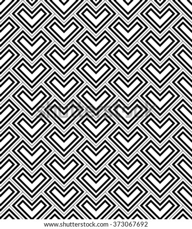 Geometric seamless pattern. Modern stylish texture