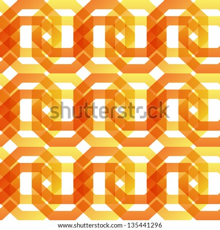 geometric seamless pattern of octagons