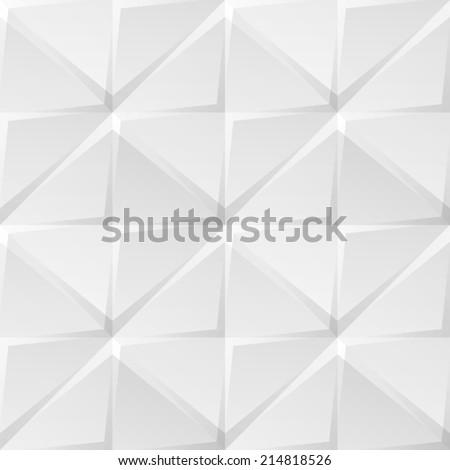 geometric seamless pattern of triangle tile - stock photo