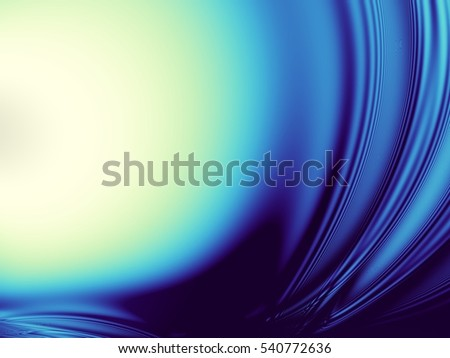 Geometrical abstract pattern. Blurred fractal rendering background