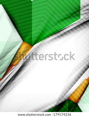 Geometrical shape abstract background. For business background | numbered banners | business lines | graphic website | mobile app