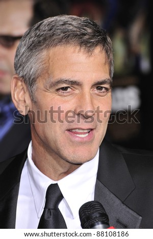 "George Clooney at the world premiere of his new movie ""Leatherheads"" at Grauman's Chinese Theatre. March 31, 2008  Los Angeles, CA Picture: Paul Smith / Featureflash"