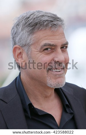 George Clooney  attends the photocall of 'Money Monster' at the annual 69th Cannes Film Festival at Palais des Festivals on May 12, 2016 in Cannes, France.