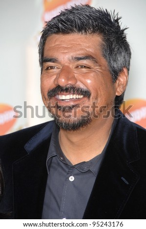George Lopez at Nickelodeon's 20th Anniversary Kids' Choice Awards at UCLA's Pauley Pavilion in Los Angeles. March 31, 2007  Los Angeles, CA Picture: Paul Smith / Featureflash - stock photo