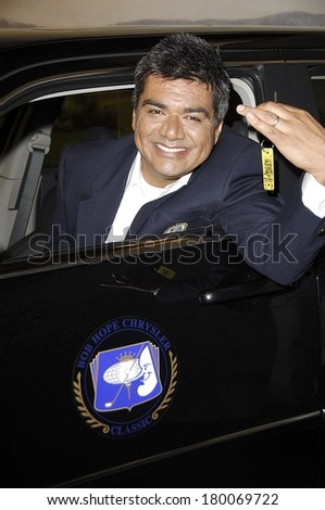 George Lopez at the press conference for George Lopez to Host 2007 Bob Hope Chrysler Classic PGA Tour celebrity golf tournament, Warner Bros Studios set of The George Lopez Show, LA, August 22, 2006