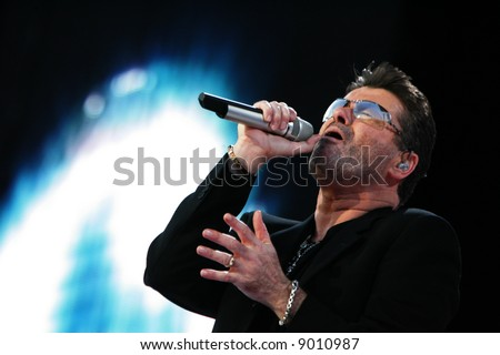George Michael in Concert - stock photo