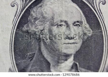 George Washington - stock photo