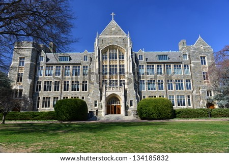 Georgetown University, Washington DC, United States - stock photo
