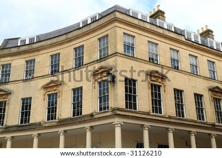 Georgian architecture- City of Bath, England