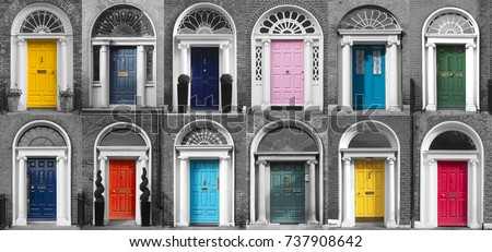 GEORGIAN DOORS - DUBLIN IRELAND & Doors Of Dublin Stock Images Royalty-Free Images u0026 Vectors ... pezcame.com
