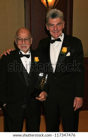 Gerald Hirschfeld and Richard Benjamin at the American Society of Cinematographers 21st Annual Outstanding Achievement Awards. Hyatt Regency Century Plaza Hotel, Century City, CA. 02-18-07