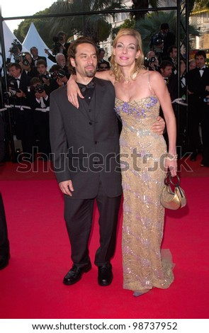 German actress UTE LEMPER at the Cannes Film Festival for the premiere of The Pledge. 15MAY2001.  Paul Smith/Featureflash
