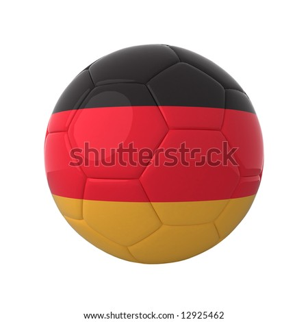 German football for europe's championship. - stock photo