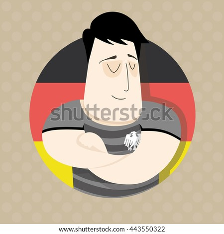 German football player  - stock photo