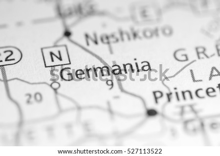 Germania. Wisconsin. USA