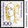 GERMANY - CIRCA 1994: A stamp printed in the Germany shows Louise Henriette of Orange, Mother of Frederick, King of Prussia, circa 1994 - stock photo