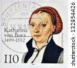 GERMANY- CIRCA 1999: stamp printed in Germany shows Katharina von Bora , circa 1999 - stock photo