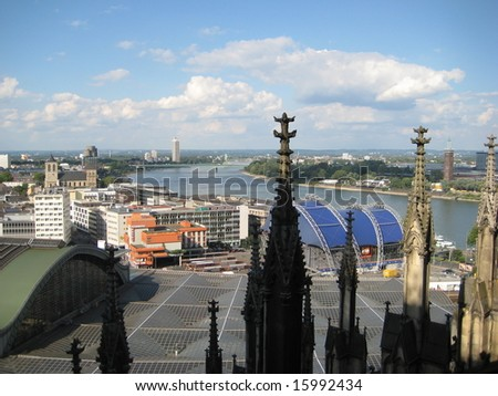 Germany, Cologne - stock photo
