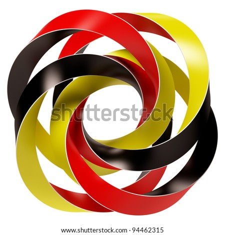 Germany Flag Concept - stock photo