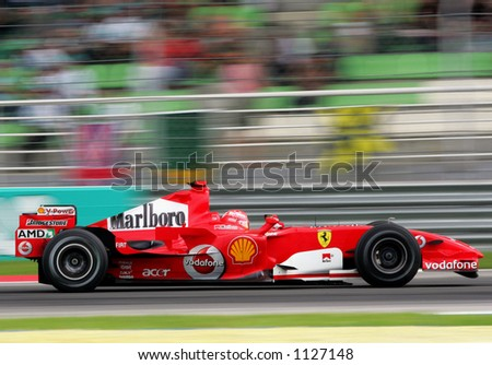 Germany formula one driver Michael Schumacher of Scuderia Ferrari Marlboro Team, 2006 - stock photo