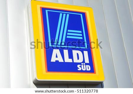Germanyoct 30 Aldi Logo On October 302016 Stock Photo Royalty Free