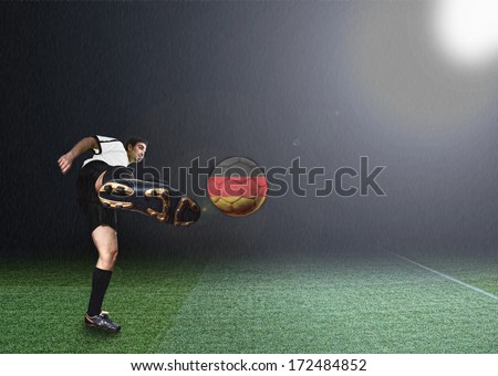 germany soccer player - stock photo