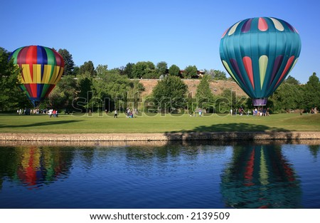 Getting a Ride on Hot Air Balloons