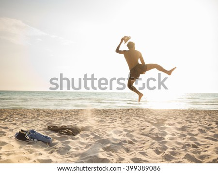 Getting away from it all! - stock photo