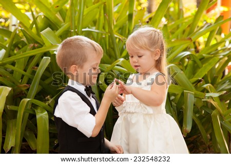Getting engaged young - stock photo