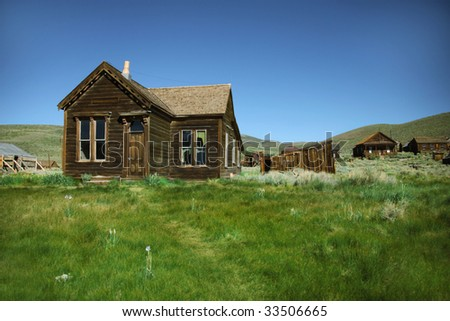 Ghost Town Home in Bodie California
