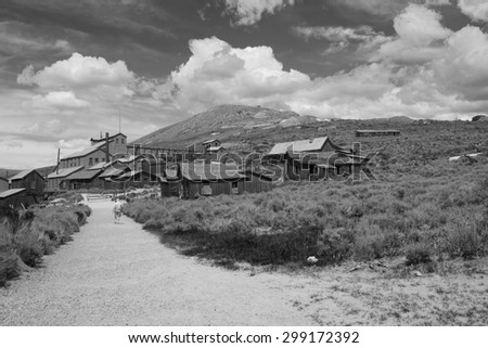 Ghost town,, in black and white   Ghost town, Ghost town, Ghost town, Ghost town, Ghost town, Ghost town, Ghost town, Ghost town, Ghost town, Ghost town, Ghost town, Ghost town, Ghost town,  - stock photo