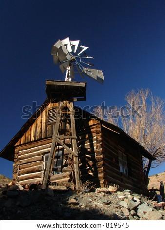 Ghosttown Pumphouse - stock photo