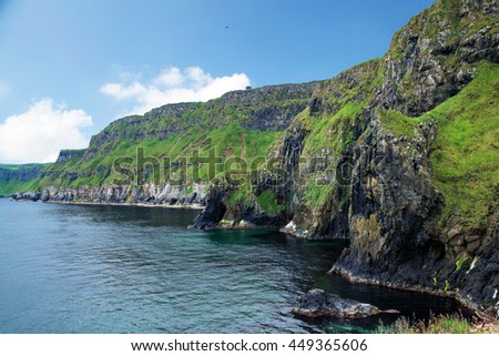Giant's Causeway Cliff