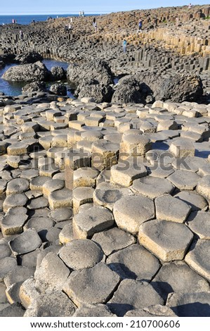 Giant's Causeway, Northern Ireland - stock photo