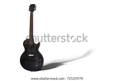 Gibson Les Paul on White Background