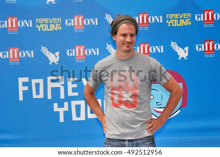 Giffoni Valle Piana, Sa, Italy - July 24, 2013 : Antti Haikala at Giffoni Film Festival 2013 - on July 24, 2013 in Giffoni Valle Piana, Italy